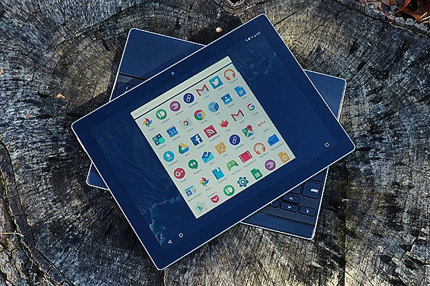 Pixel C Tablet Optimized Android UI