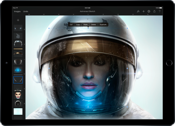 pixelmator on ipad pro advanced editing