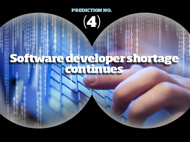 2016 software prediction 4 shortage