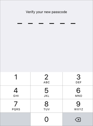 how to change passcode on iphone switch to six digits for your ios passcode macworld 18633