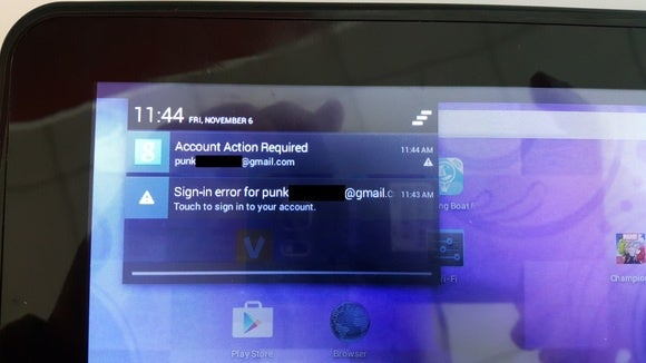 returned tablet notifications