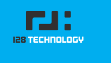 128 technology logo