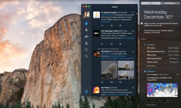 Twitter App Screenshot