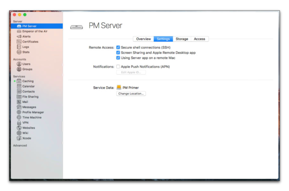 A primer in Profile Manager: Manage your server remotely