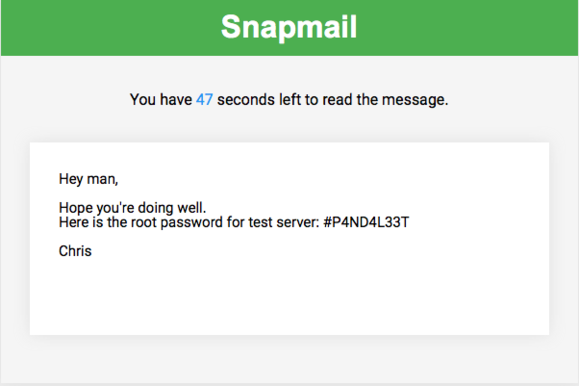 snapmail chrome extension for gmail