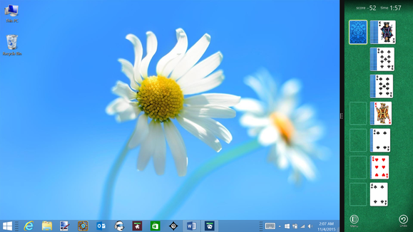 solitaire in windows 8