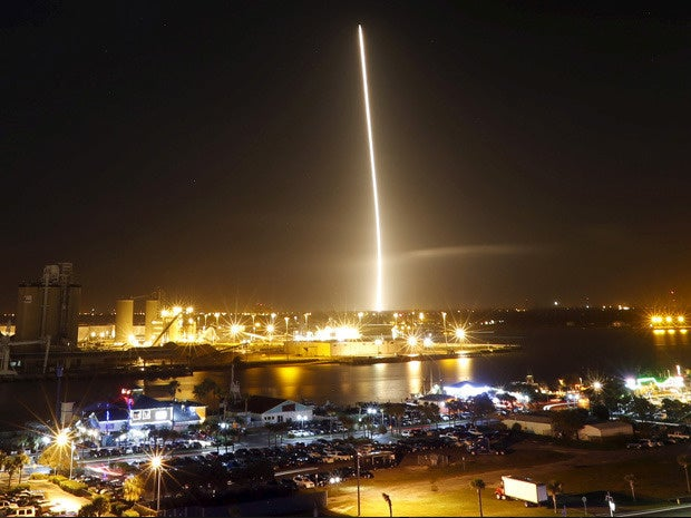 space x 8
