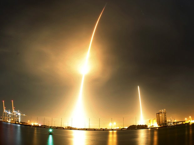 space x 9