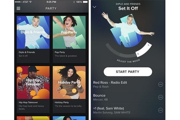 Spotify gets a Party mode with adjustable moods | PCWorld