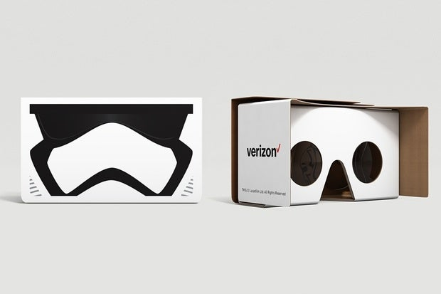 Verizon's free Google Cardboard VR offer pairs Star Wars, LTE