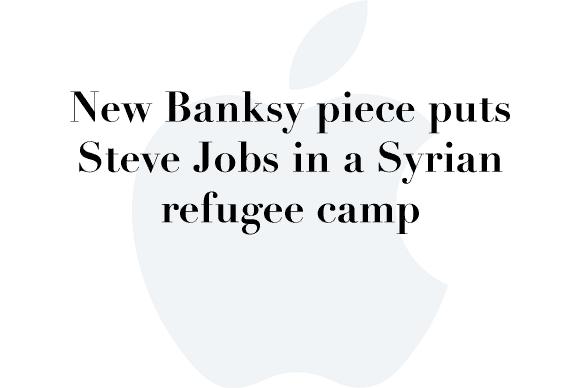 steve jobs banksy