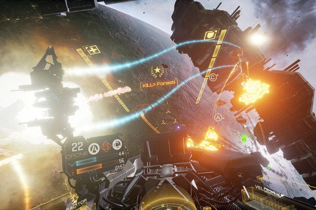 EVE Valkyrie's Warzone update brings CCP's VR dogfighter to normal monitors