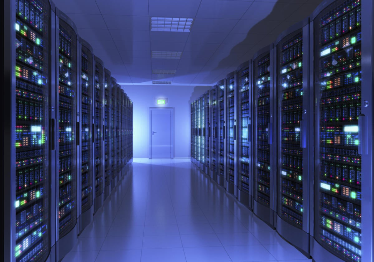 Network servers datacenter