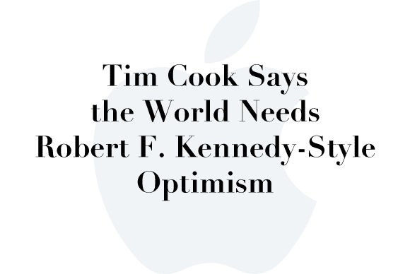 tim cook robert kennedy