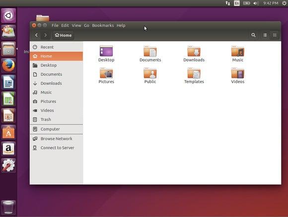 ubuntu 1504 menu