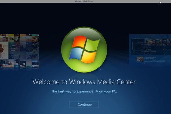 windows media center tech that died 2015