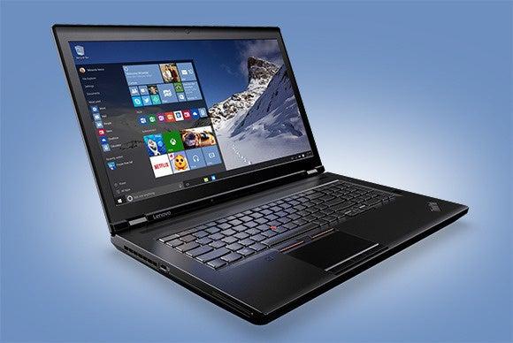 xeon laptops thinkpad p70