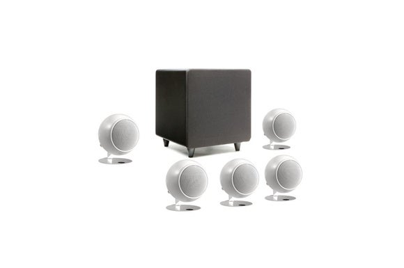 Orb speakers and subwoofer