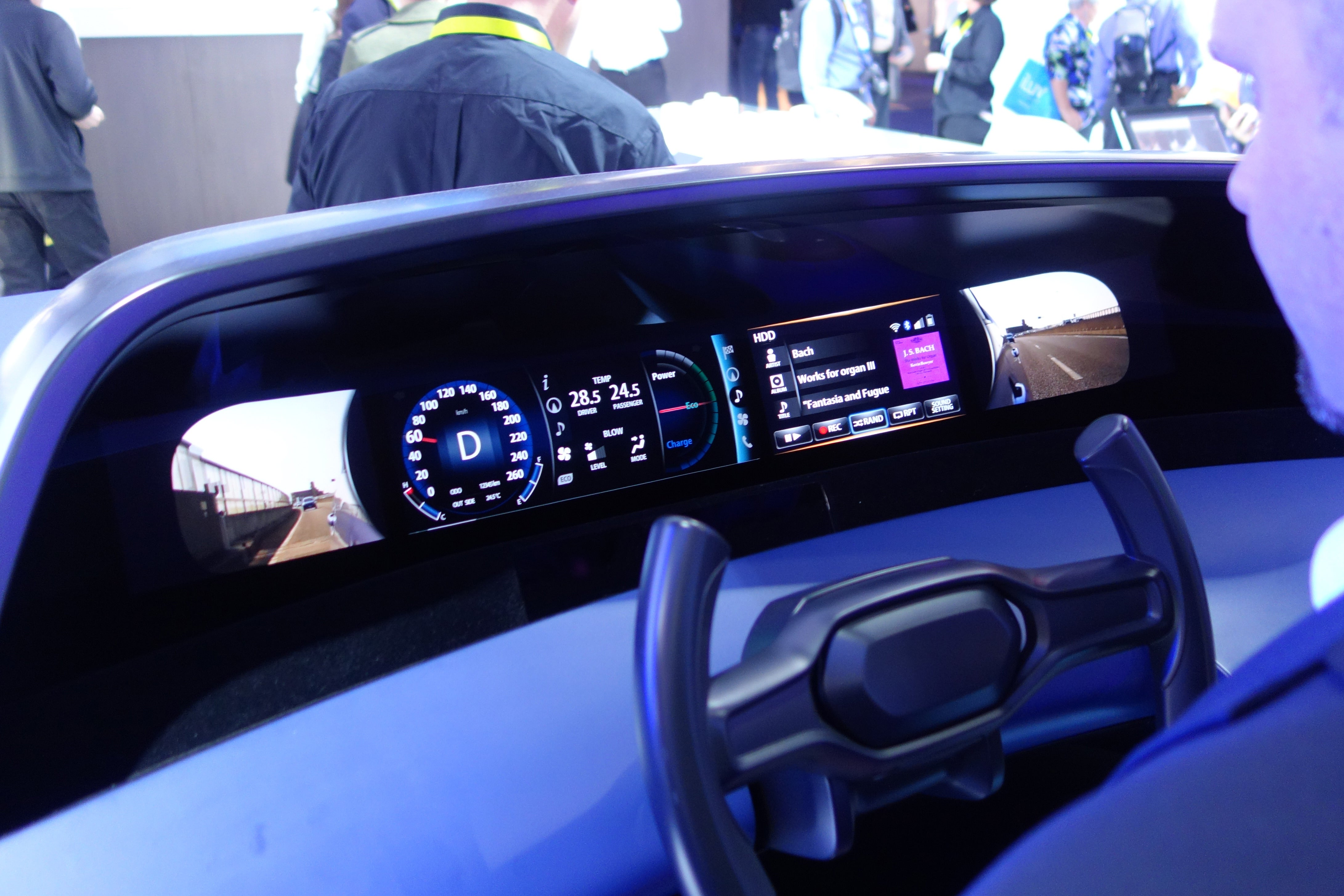 from faraday future to nvidia the best car tech of ces 2016. Black Bedroom Furniture Sets. Home Design Ideas