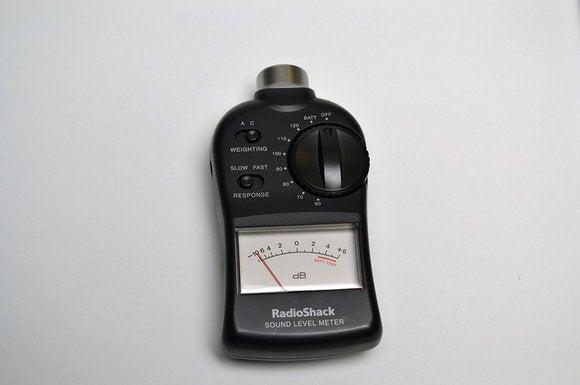 radioshack spl meter
