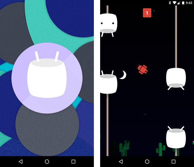 Android 6.0 Marshmallow: Easter Egg Game