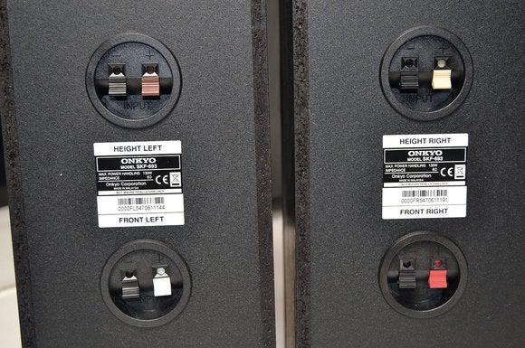 rear speaker terminals