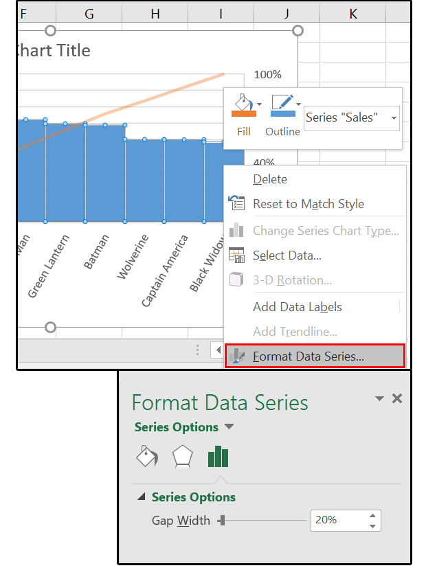 Excel 2016 Charts How To Use The New Pareto Histogram And