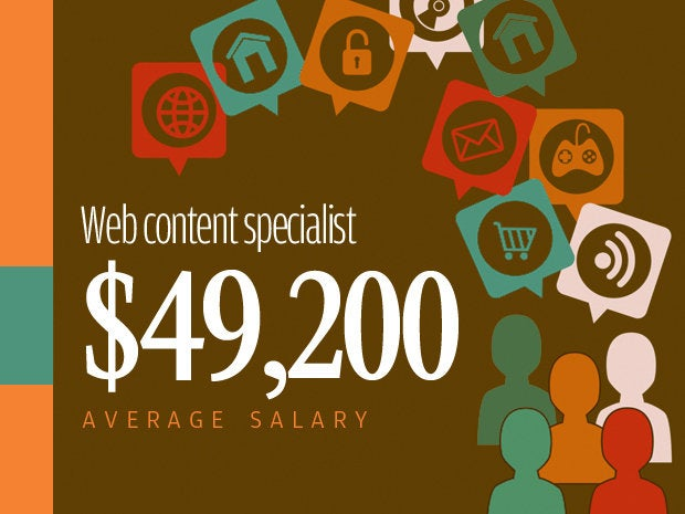 11 web content specialist