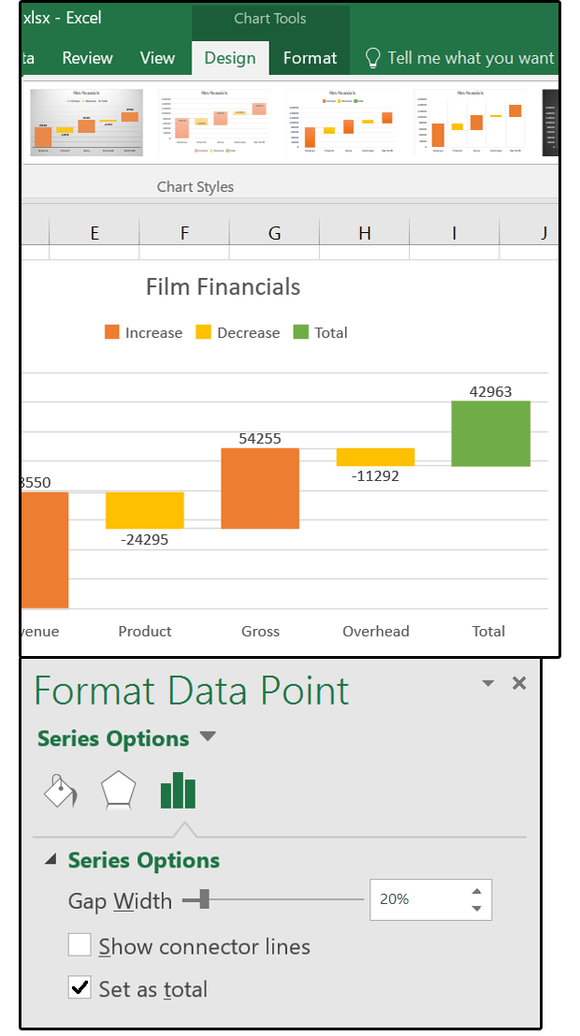 excel 2016 charts  how to use the new pareto  histogram