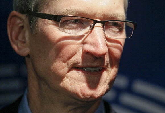 Apple's Cook calls European tax ruling 'total political crap'