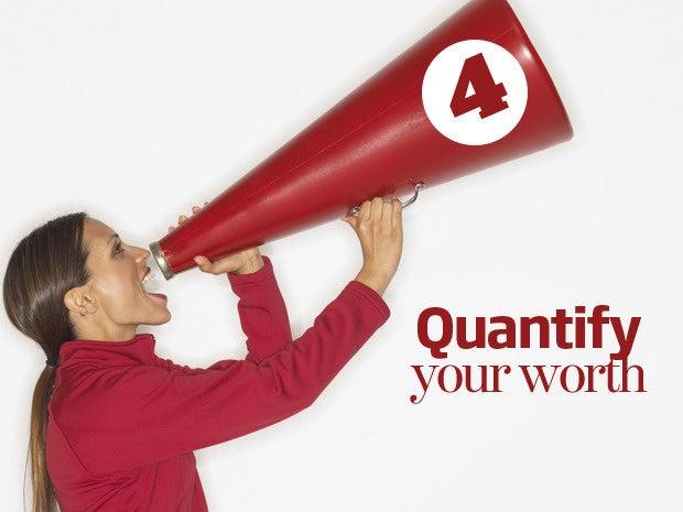 4 quantify worth