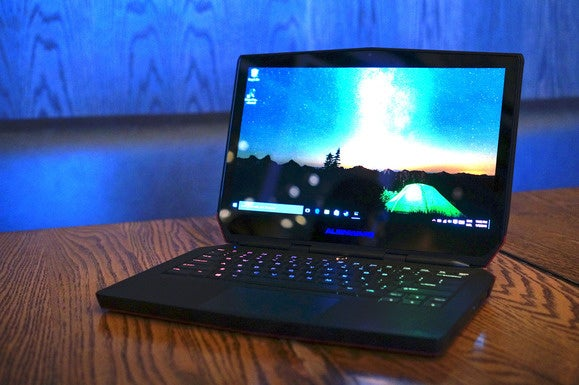 alienware 13 oled worlds first gaming laptop with old
