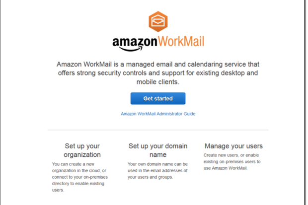 Amazon WorkMail now available for $4 per user per month