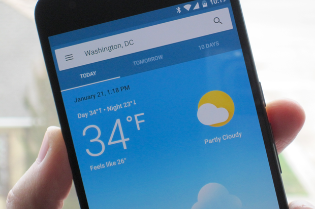 Google unveils splashy new weather experience on Android