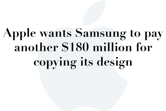 apple 180 mil samsung