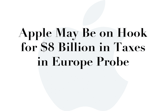 apple 8 billion taxes