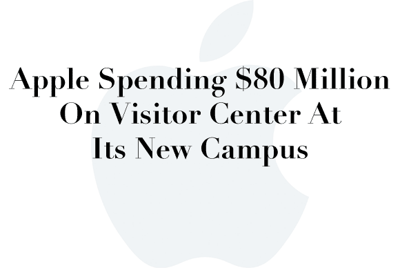 apple campus2 visitor center