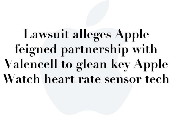 apple valencell lawsuit
