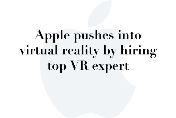 apple vr expert