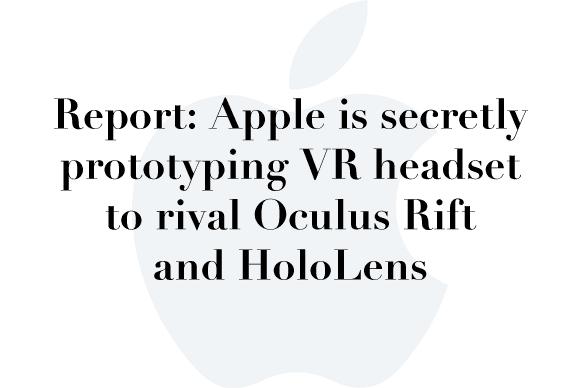 apple vr rumor