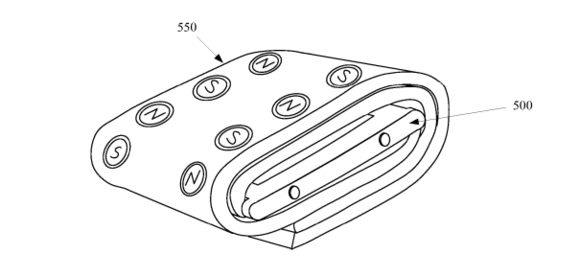 apple watch case patent