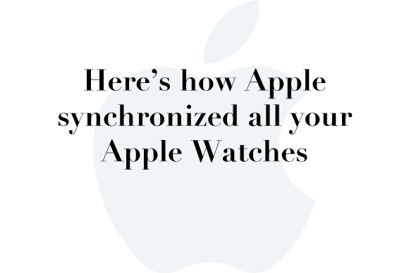 apple watch sync