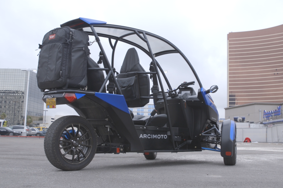 arcimoto srk side view ces 2016 cropped