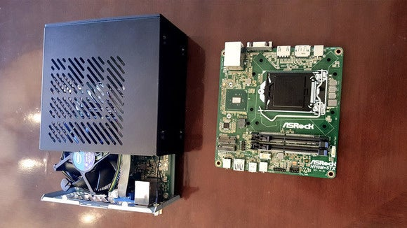 asrock mini stx motherboard case