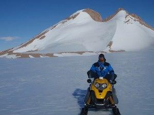 Staff at Belgiums Princess Elisabeth Antarctica Research Station