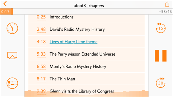 chapters overcast preview
