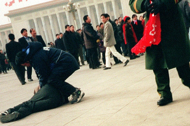 chinese arrest falun gong