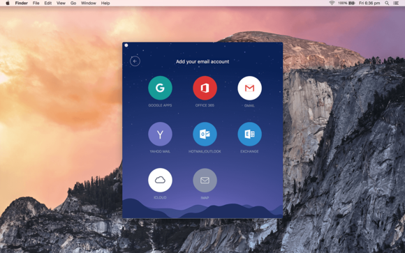 cloudmagic for mac add account