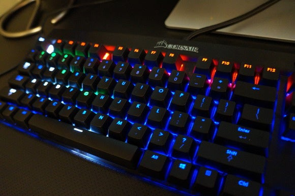 Corsair's new gaming SDK imbues RGB keyboard backlighting