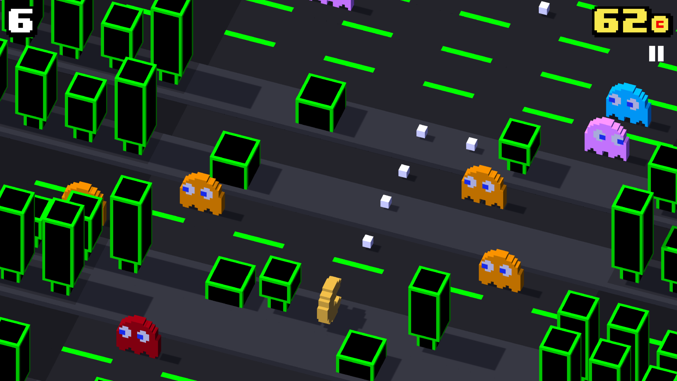 crossy overs how pac man psy and more made their way into